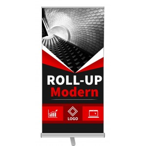 ROLL-UP HIT NOWOŚĆ MODERN  85x200cm BLOCKOUT ROLLUP EXPRESS