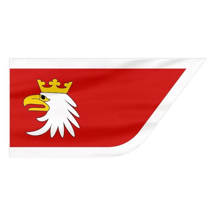 Flaga województwa Warmińsko-mazurskiego 120x75cm