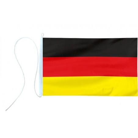 Flaga jachtowa Niemiec - barwy 30x20cm - pod sailing
