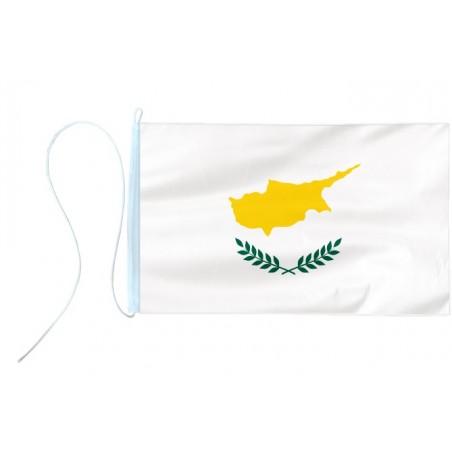 Flaga jachtowa Cypru 65x40cm - pod sailing