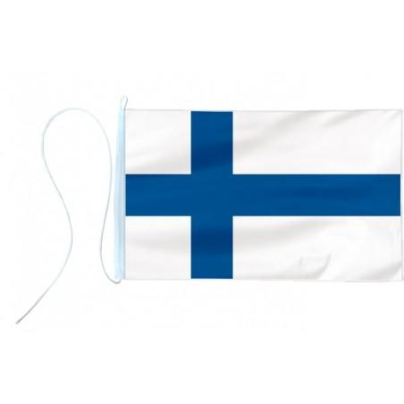 Flaga jachtowa Finlandii 45x30cm - pod sailing