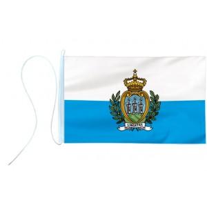 Flaga jachtowa San Marino 65x40cm - pod sailing