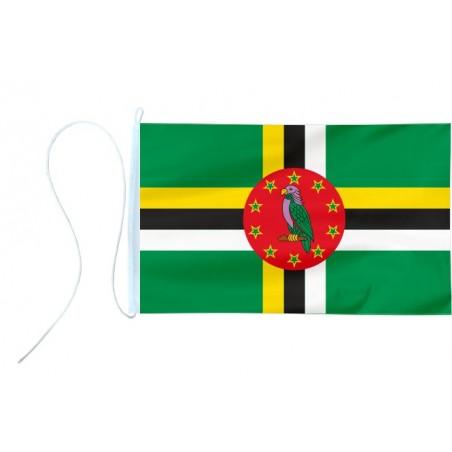 Flaga jachtowa Dominiki 30x20cm - pod sailing