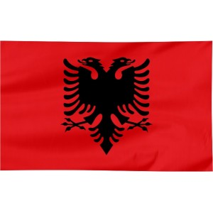 Flaga Albanii 120x75cm