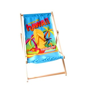 15 x Leżak plażowy z dowolnym nadrukiem typu standard bez podłokietników