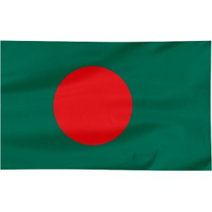 Flaga Bangladeszu 100x60cm