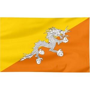 Flaga Bhutanu 100x60cm