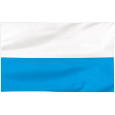 Flaga Maryjna biało-niebieska 120x75cm