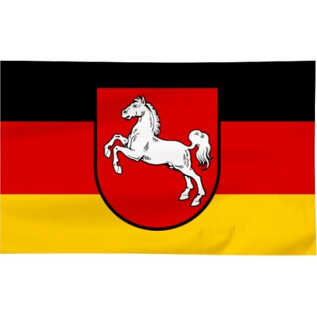 Flaga Dolnej Saksonii 120x75cm
