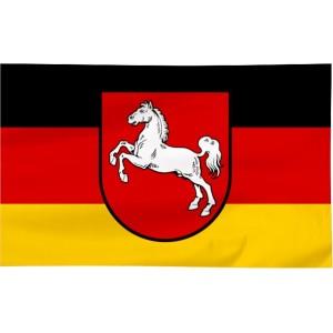 Flaga Dolnej Saksonii 300x150cm