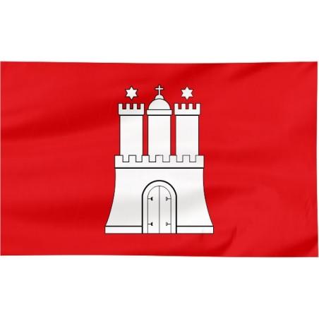 Flaga Hamburga 150x90cm
