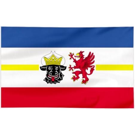 Flaga Meklemburgii - Pomorza Przedniego 150x90cm