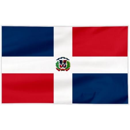 Flaga Dominikany 100x60cm