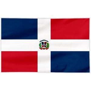 Flaga Dominikany 150x90cm