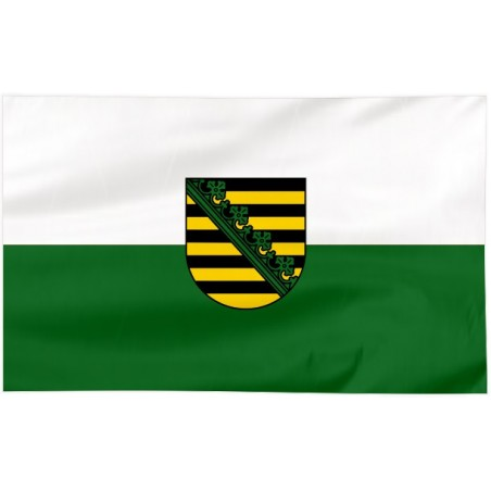 Flaga Saksonii 120x75cm