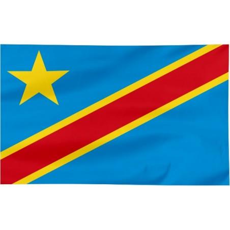 Flaga Demokratycznej Republiki Konga 120x75cm