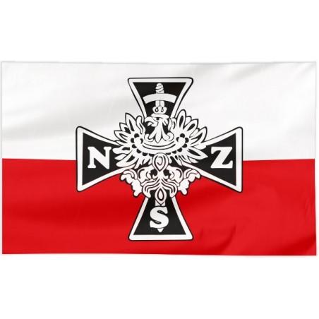 Flaga Narodowych Sił Zbrojnych 100x60cm