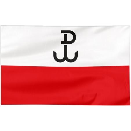 Flaga Polski Walczącej 120x75cm