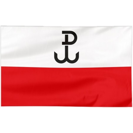 Flaga Polski Walczącej 150x90cm