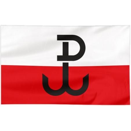 Flaga Polski Walczącej 100x60cm