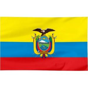 Flaga Ekwadoru 300x150cm