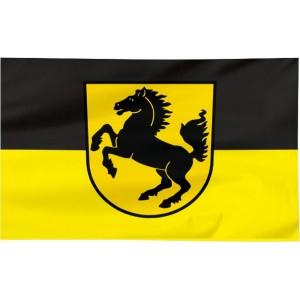 Flaga Stuttgartu 300x150cm