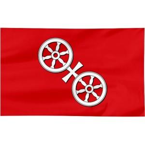 Flaga Moguncji 100x60cm