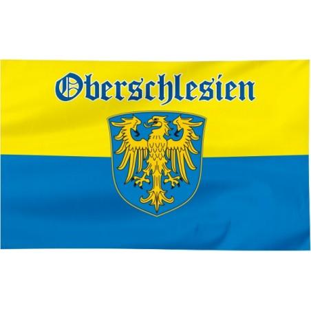 Flaga Górnego Śląska z napisem Oberschlesien 150x90cm