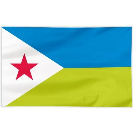 Flaga Dżibuti 100x60cm