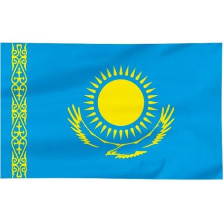 Flaga Kazachstanu 120x75cm