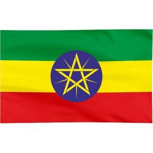 Flaga Etiopii 120x75cm
