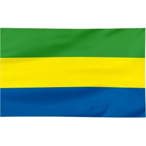 Flaga Gabonu 100x60cm