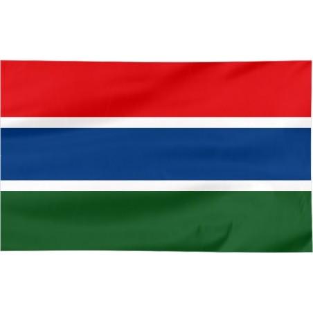 Flaga Gambii 150x90cm