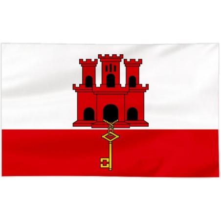 Flaga Gibraltaru 100x60cm