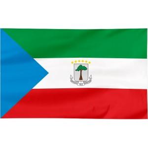 Flaga Gwinei Równikowej 120x75cm