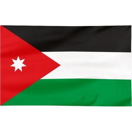 Flaga Jordanii 300x150cm