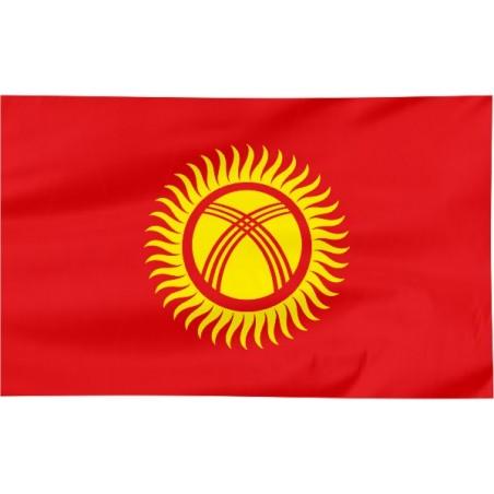 Flaga Kirgistanu 100x60cm