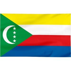 Flaga Komorów 100x60cm