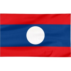 Flaga Laosu 100x60cm