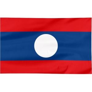 Flaga Laosu 150x90cm