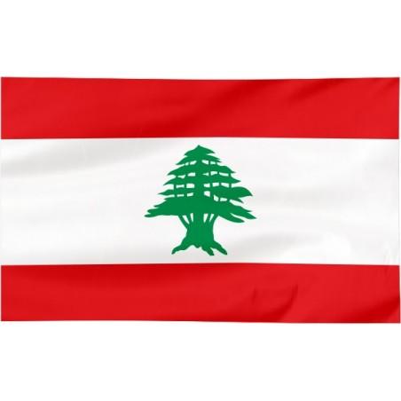 Flaga Libanu 150x90cm