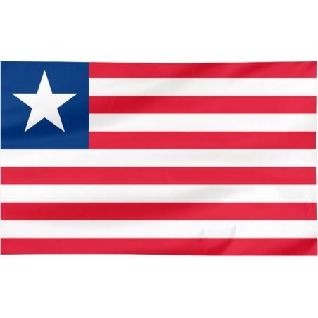 Flaga Liberii 120x75cm