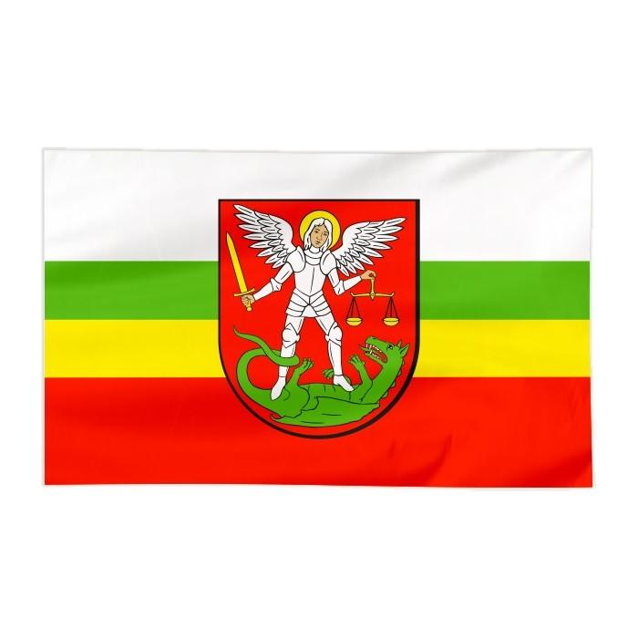 Flaga Białej Podlaskiej 300x150cm