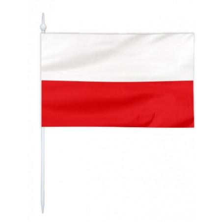 Chorągiewka Polski-barwy 24x15cm