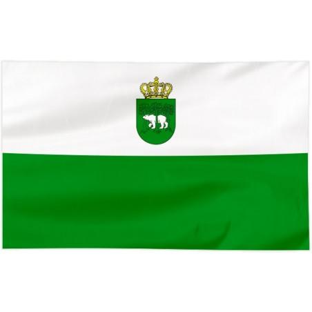Flaga Chełma z herbem 300x150cm