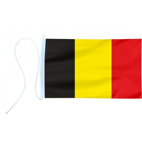 Flaga jachtowa Belgii 45x30cm - pod sailing