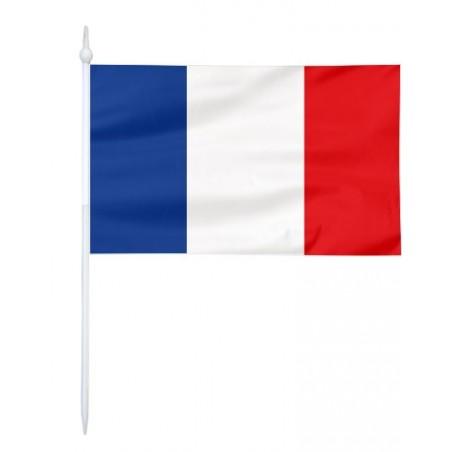 Chorągiewka Francji 17x10cm