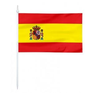 Chorągiewka Hiszpanii 11x6cm