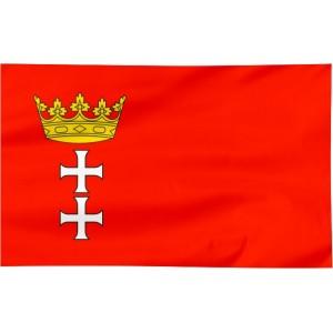 Flaga Gdańska 120x75cm