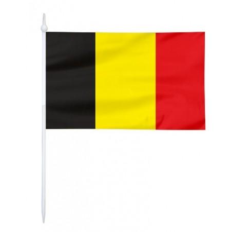 Chorągiewka Belgii 17x10cm